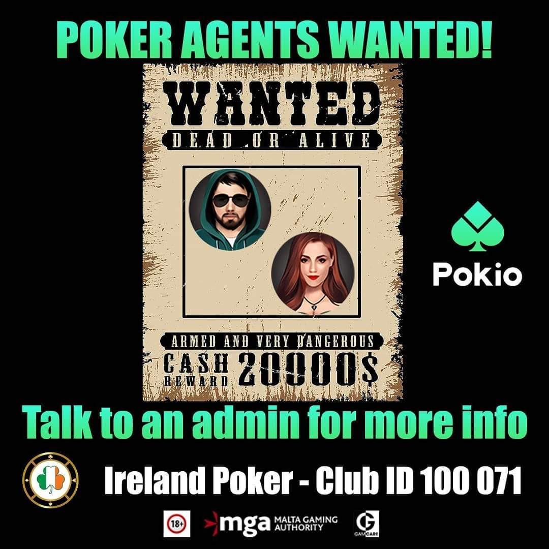 Poker Agents Wanted!!